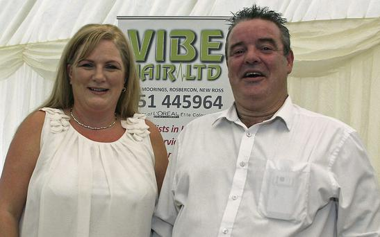 Jenny and Philip O'Neill at the Networking and Business Expo.