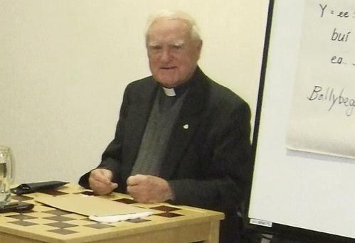 Local historian Fr Sean de Val