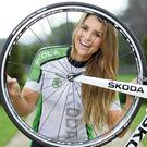Vogue Williams launches the inaugural ŠKODA Cycle Series