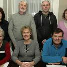 AGM Gorey Tidy Towns in the Loch Gorman Arms, outgoing committee members, front, Margaret O' Hara, LIz Flood and Bily Halford. Back, Helen Watters, Gerry Flood, Gerard Fleming and Mary Murphy.