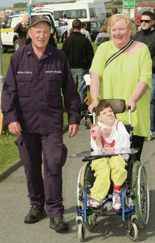 Alan and Joanne Powell with their daughter, Siobhán