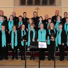 Enniscorthy Choral Society at the Mental Health concert in Oylegate Church on Sunday evening