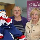 Vice chairperson, Pat Mulvey and Peggy Donaghy at the Enniscorthy Retirement Association sale of work at the Presentation Centre