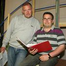 John Reilly and Liam Sharkey, co-producers of the Rathnure Pantomime Society's production of 'The Magic Wand'