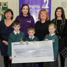 The children raised €700