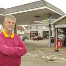 Proprietor Jimmy Gahan at his Daybreak Service Station in Drumgoold, Enniscorthy