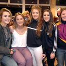 Some of the girls enjoying the celebration night at Bellefield GAA Club