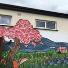 Ballythomas National School now has a large new mural thanks to participants in the recent Gap Arts Festival