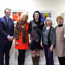 James Browne TD, Maria Nolan and photographers Zuzana Sukopova, Marja van Kampen, Hannah B and Dick Donaghue