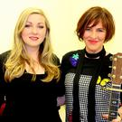 Eleanor McEvoy (right) with Lisa Byrne at the Presentation Arts Centre last Saturday night
