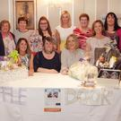 The organising committee at the benefit night for the Martin family in the Ashdown Park Hotel