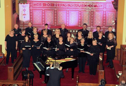 Enniscorthy Choral Society performing at St Mary's Church