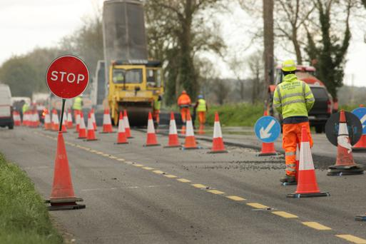 Current road works on the N11 between Scarawalsh and Ferns that 'do not seem necessary' to Cllr Paddy Kavanagh