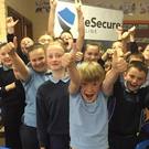 Children of Camolin National School are pictured at the BeSecureOnline internet safety workshop which was recently held at their school