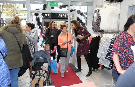 Customers at the official opening of Vision by Vila on Rafter St in Enniscorthy