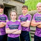 The O'Connor family from Rathnure will battle it out in the Ireland's Fittest Family final on Sunday