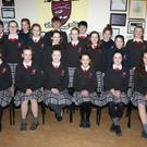 Students from Meánscoil Gharman travelling to the All Ireland finals of 'Scléip' in Dublin to take part in five categories of the competition they won in Cork at the end of 2017
