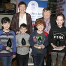 St.Senan's PS:Bobby Rackard, Aaron Brady, Tom Ivers and Liz O'Shea, winners of the Under 11 section pictured with Mary McManus (teacher) and Pat O'Shea