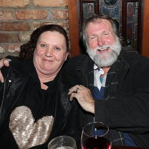 Elaine Kelly and Richie Cotter at the launch