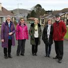 Sr Stella Sheehy, Lillian McKenna, Mary Redmond, Una Murphy and Richard Donoghue at Loreto Village, Enniscorthy