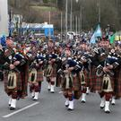 Last year's parade in the town