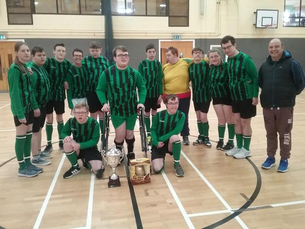 One of the two teams that battled it out in the Easter Egg Cup Final