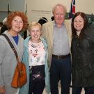 Mary O'Neill, Phil Millar, Billy Murphy and Mary Carroll at 'The 10 Dark Secrets of 1798' by Paddy Cullivan in The Presentation Centre