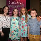 Kasey O'Connor, Sarah Mackey, Tija Grigalaviciute and Colm Mackey at the Colla Voce Performance & Music School Showcase 2018 in the Presentation Centre