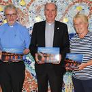 Linda O'Rourke, Fr Paddy Banville, Bishop Denis Brennan & Liz Wildes at the launch of the 2019 Enniscorthy Calendar