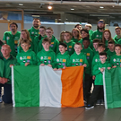 The Leinster TaeKwon Do Club pictured about to head off to the International World Championships