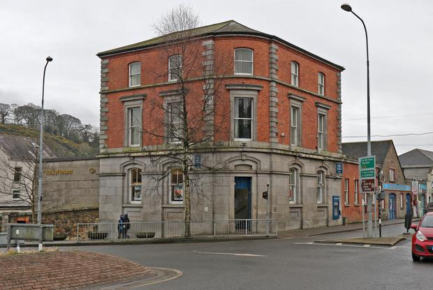 The Bank of Ireland building, Abbey Square, Enniscorthy