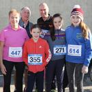 The Dobbs and Twomey families at The 3 Legends 6K Run, Jog, Walk, in aid of St. Patrick's Special School, on Sunday