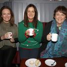 Niamh Coman, Mary O'Dowd and Breda Kearns at the IFAC Coffee Morning in the IFA Centre