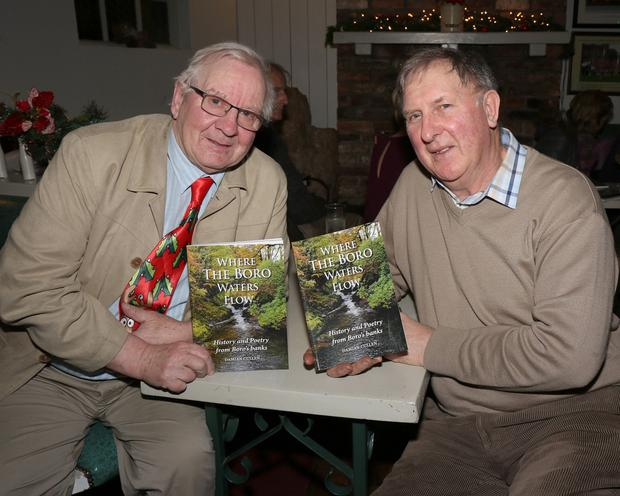 Ken Hemmingway and Noel Armstrong at the launch