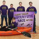 At the launch of the Slaney Valley Adventure Race, which takes place in Bree village on February 16 were Graham Parker (chairman), Sean Rochford, Shane Dawson, Colm Bates, Des Kehoe, Cathal Byrne, Denis Asple and Liam Parnell in the kayak