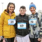 Dareen Kavanagh, Conall Doyle and Edel Doyle