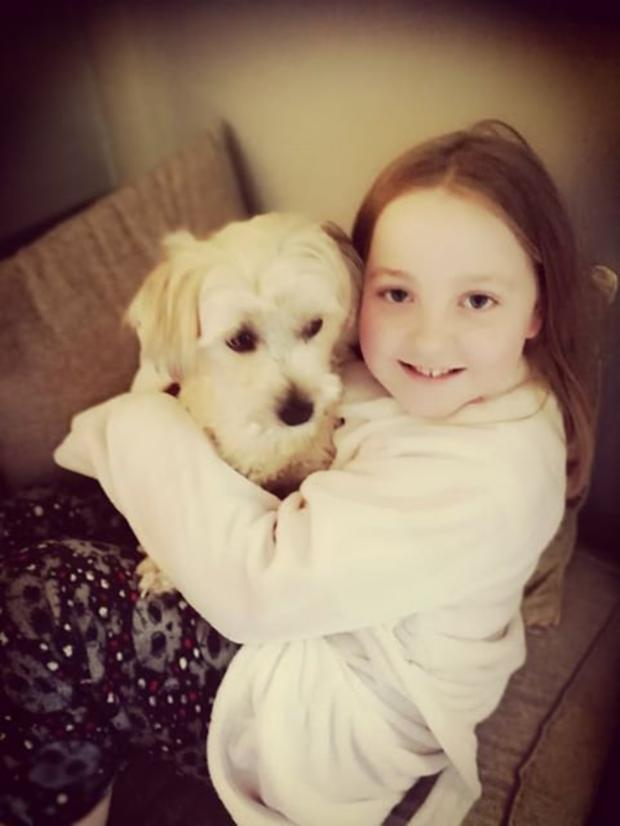 10 year-old Lucy Reville who took it upon herself to collect supplies for South East Animal Rescue