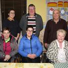 Enniscorthy Red Cross AGM in St John's Community Hospital Daycare Centre on Wednesday night. Back: Catriona Whelan, Paddy Redmond (secretary) and Paul O'Meara. Front: Olive Lett (chairperson), Karen Sullivan (vice chairperson) and Sally Flynn (PRO)