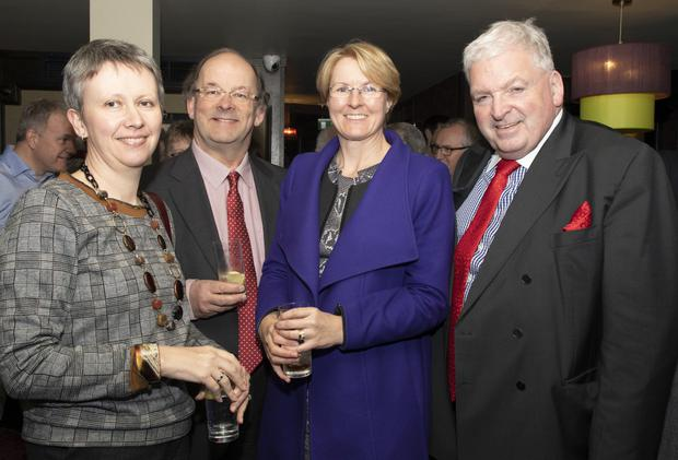 Dervla Tierney, Ronan Tierney, Becky Bristow and guest speaker Feargal McCormack, national president, Chartered Accountants Ireland