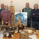 Dan Coady, Peter Hanley, Alan Hardman, Ray Shannon, Matt Molloy and Ton Connery from Ramsgrange Men's Shed