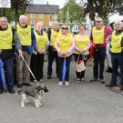 Bunclody Home Care Cancer Group pictured at the start of their annual Walk in the Market Square, Bunclody