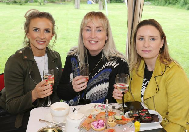 Jacqueline Redmond, Tracey O'Connor and Lisa O'Connor