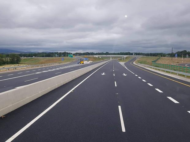 The N80/Scarawalsh interchange on the new Enniscorthy bypass