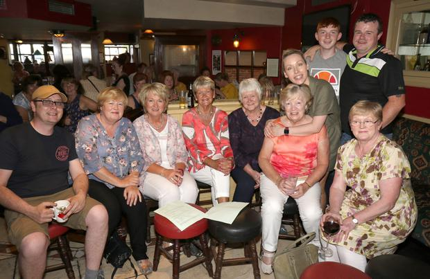 Bunclody/Kilmyshall Drama Group at the 'Plays In A Pub' as part of Wexford Literary Festival in Holohan's Pub