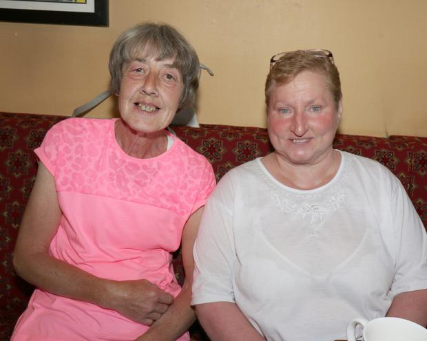 Marie Moran and Anne Redmond at the Ichthyosis Support Group Coffee Morning.