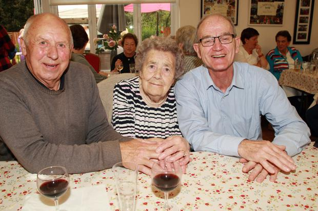 Michael O' Connor, Olive Deacon and Denis Flynn.