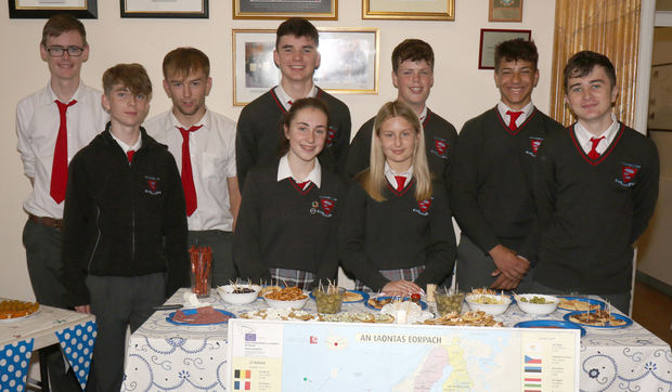 More 4th year students from Meánscoil Gharman taking part in the Erasmus+ Week and European Day of Languages
