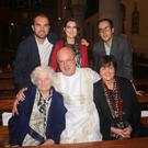 Dermot Davis with his wife Patricia, mother Pauline, daughter Susan and sons John and Andrew