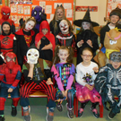 Some of the pupils from Castledockrell National School on 'Freaky Friday'