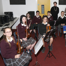Enniscorthy Vocational College Orchestra pictured at rehearsals for their upcoming concert in The Presentation Centre